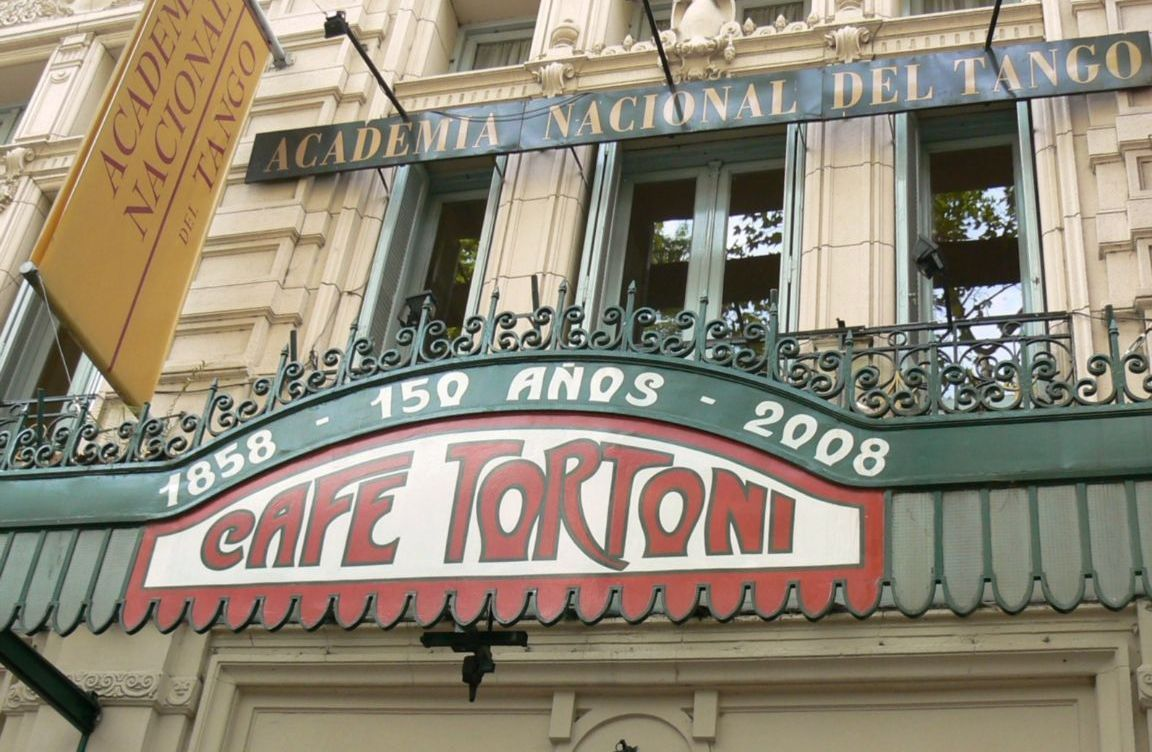 Café Tortoni - Av. de Mayo - Buenos Aires
