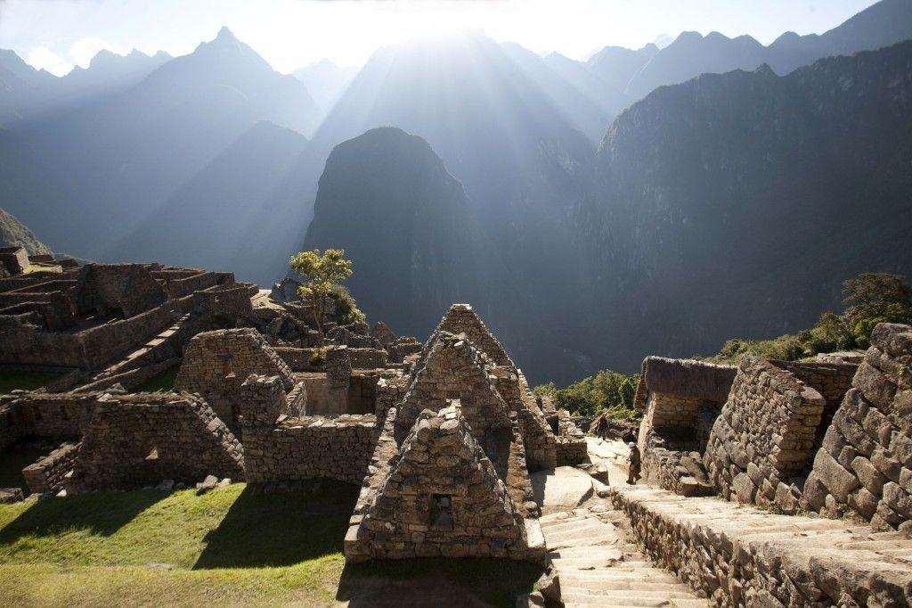 Karrancas en Ruinas de Machu Picchu
