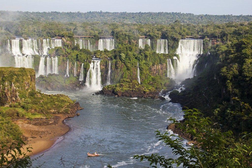 Cataratas del Iguazú vista desde el lado brasilero