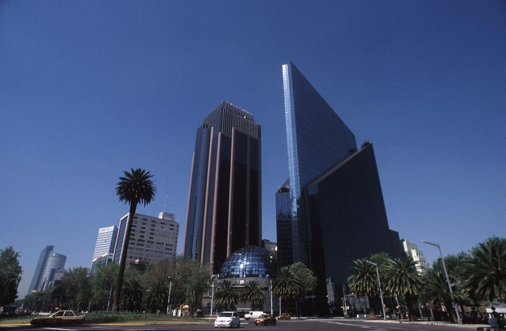 Paseo La Reforma en Ciudad de México