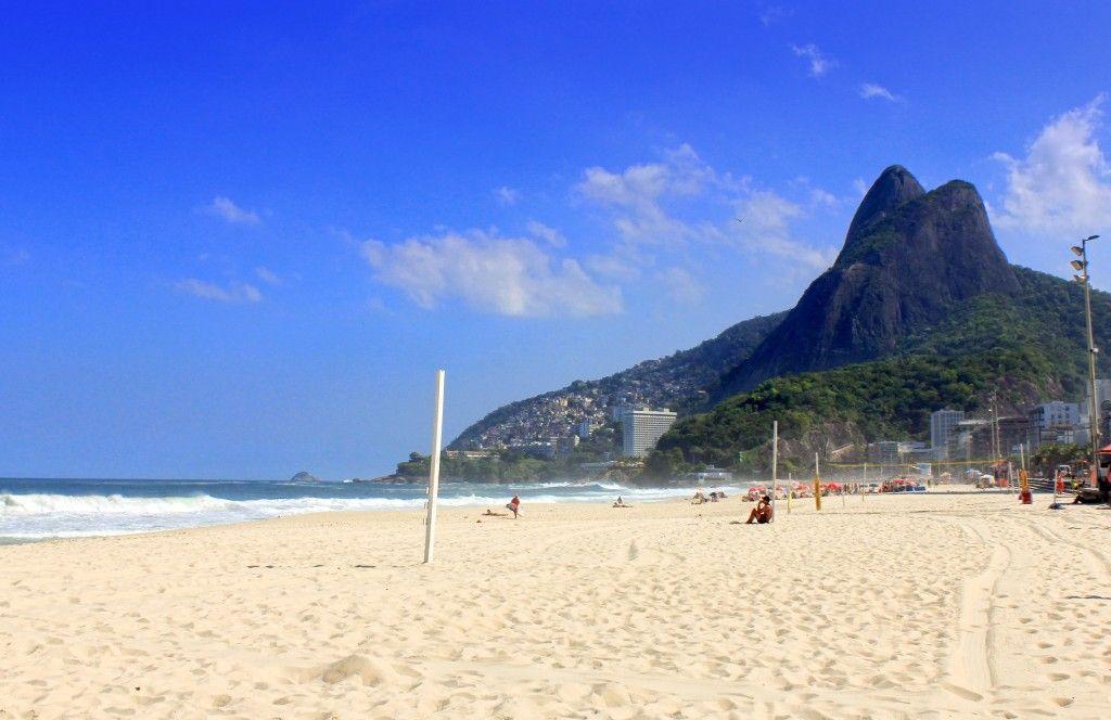 Playa Leblon en Rio de Janeiro