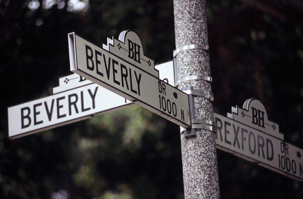 Calles de Los Angeles y Beverly Hills