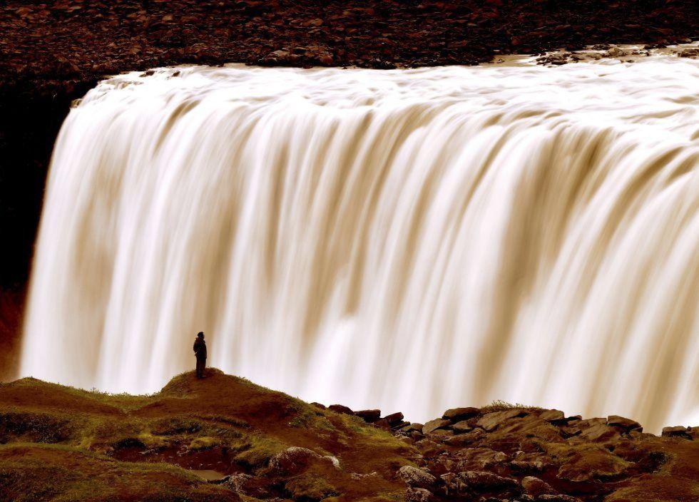 Cascada Dettifoss, en Islandia