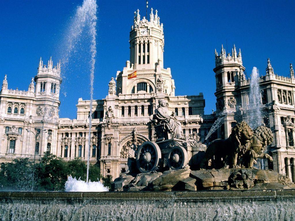 Fuente Cibeles en Madrid