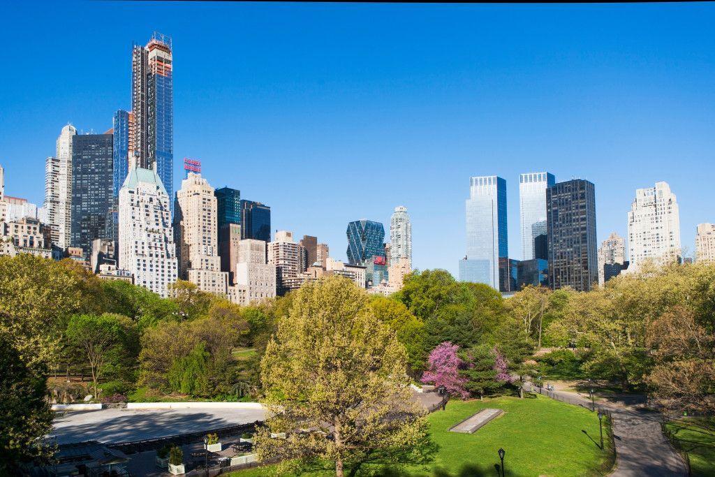 Vista de Manhattan desde Central Park