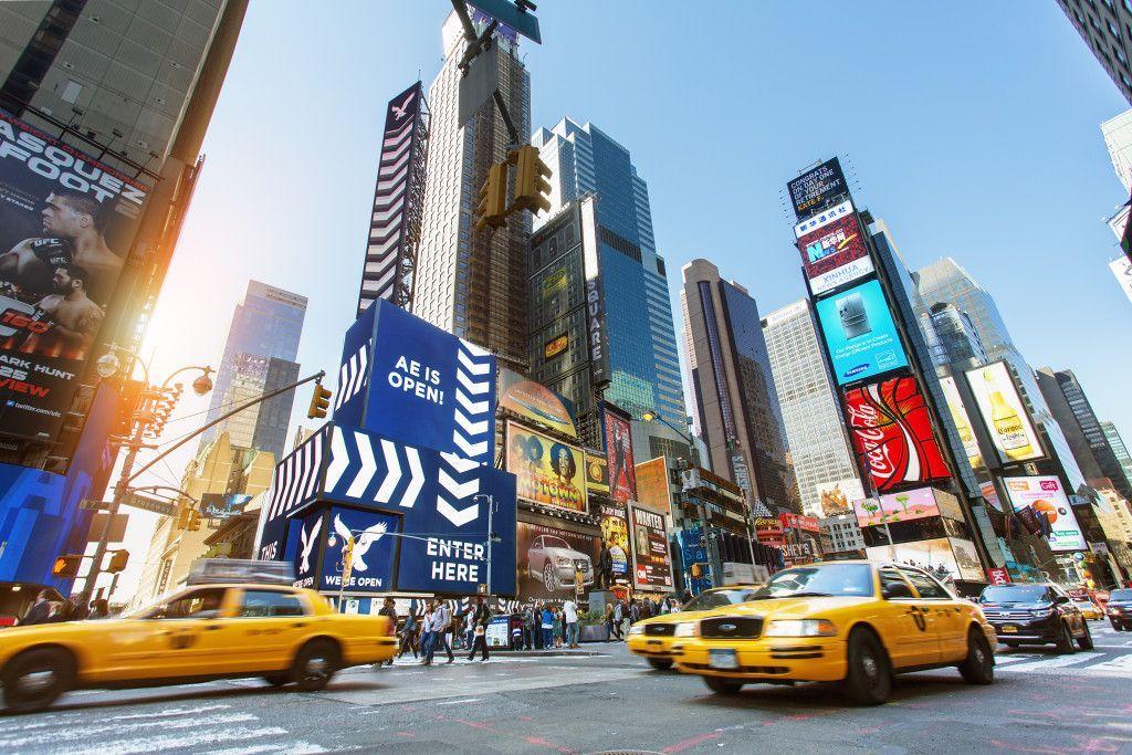 Times Square de Nueva York de día