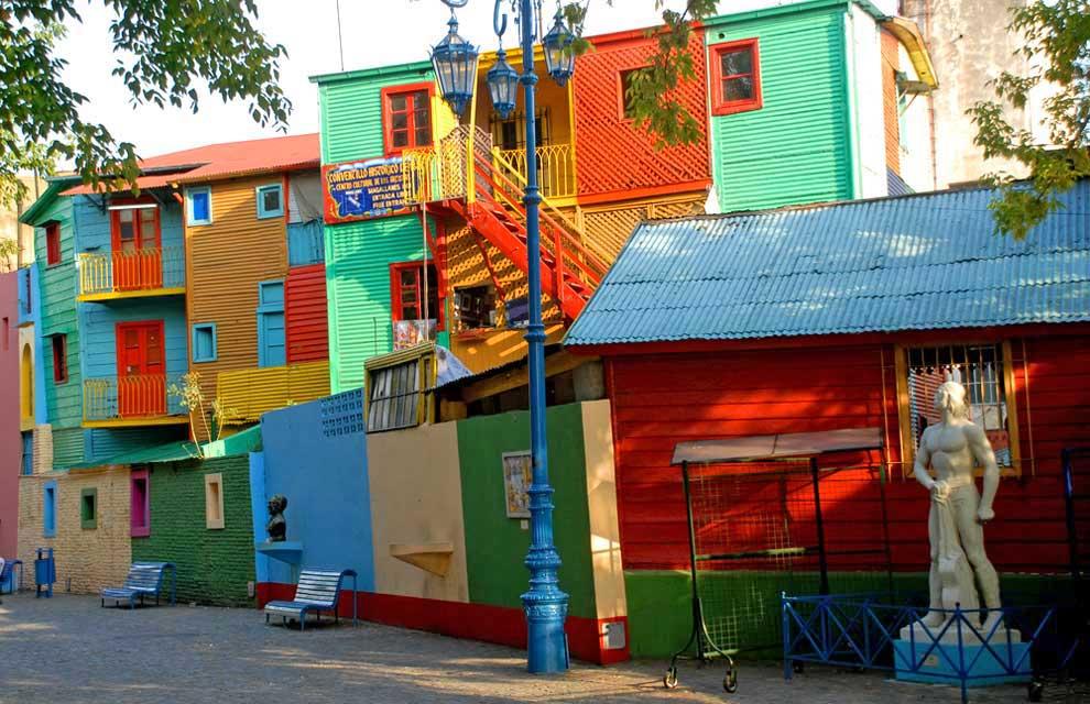 Caminito, en La Boca, Buenos Aires