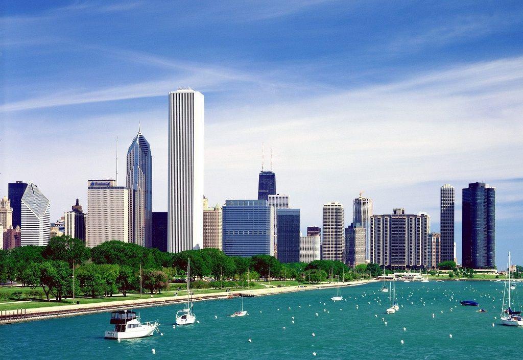 Chicago, a orillas del lago Michigan