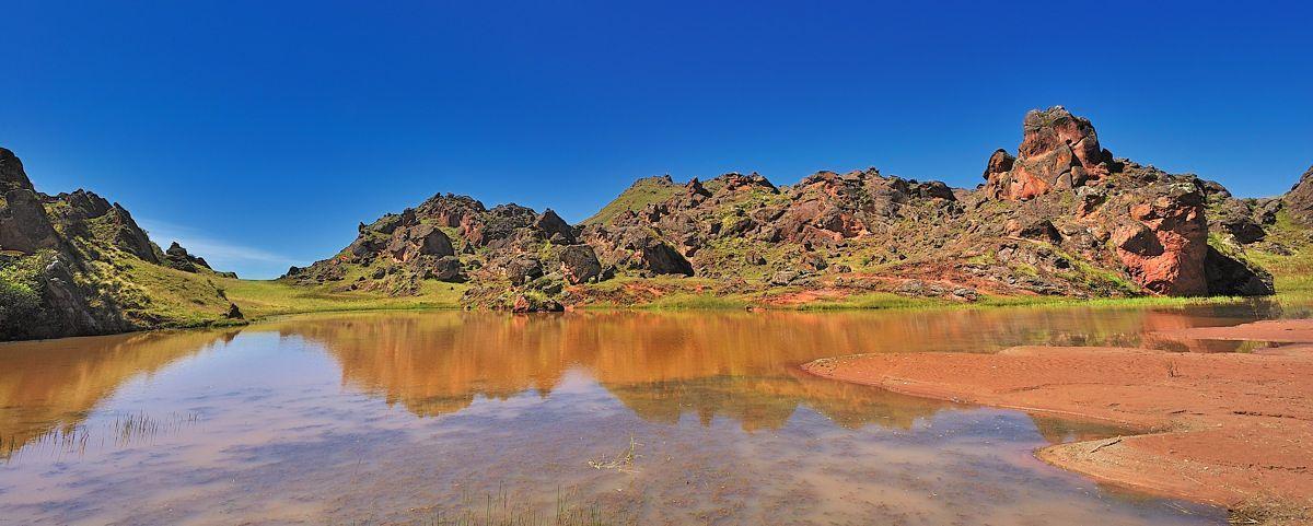 Laguna del Valle Encantado en Salta