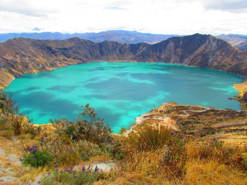 Laguna Quilotoa, cerca de Quito