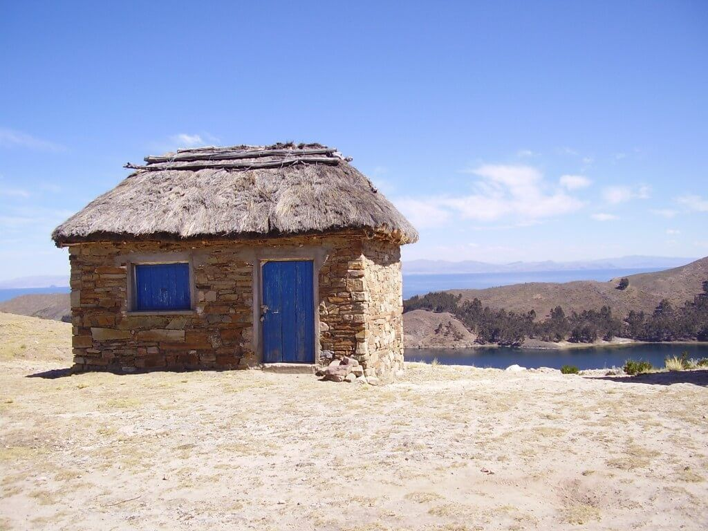 Poblaciones en las costas del Lago Titicaca