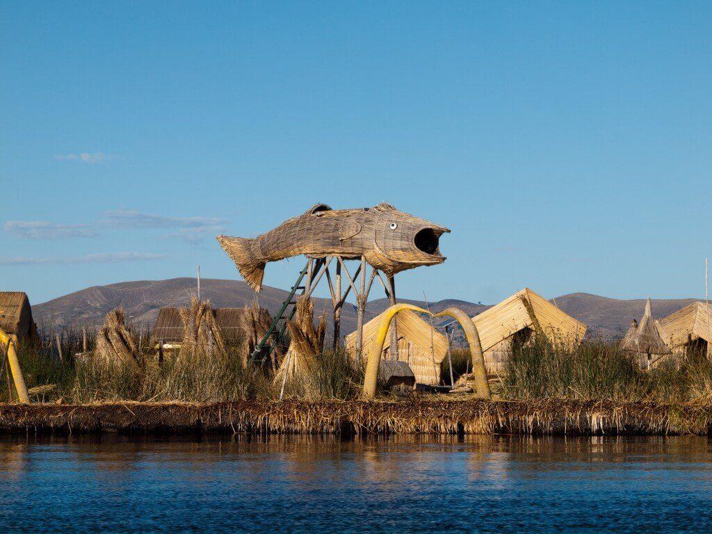 Islas flotantes del Lago Titicaca