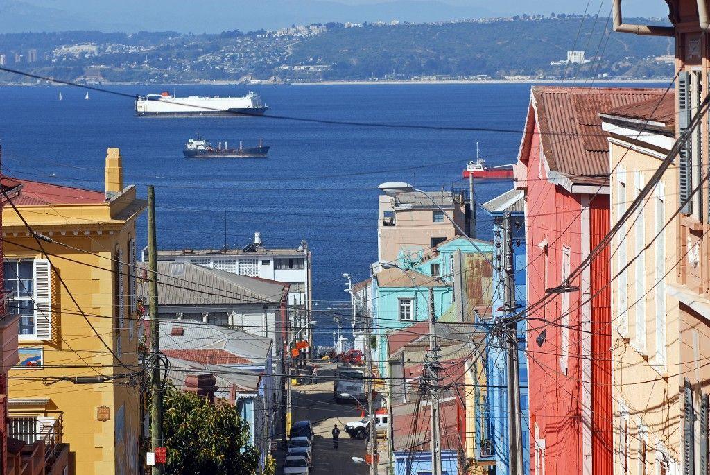Callejones en Valparaíso