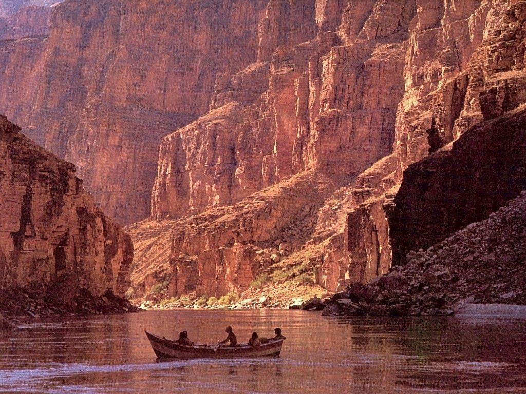 Ríos en el Gran Cañon del Colorado