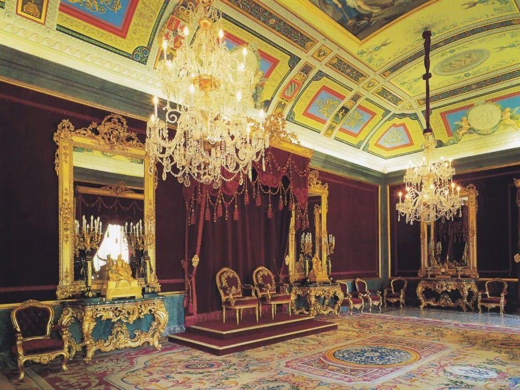 Sala del Trono del Palacio de Aranjuez