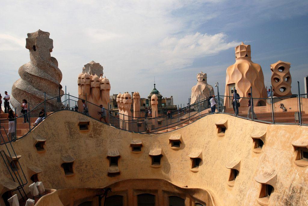 Casa Mila de Gaudi, Barcelona