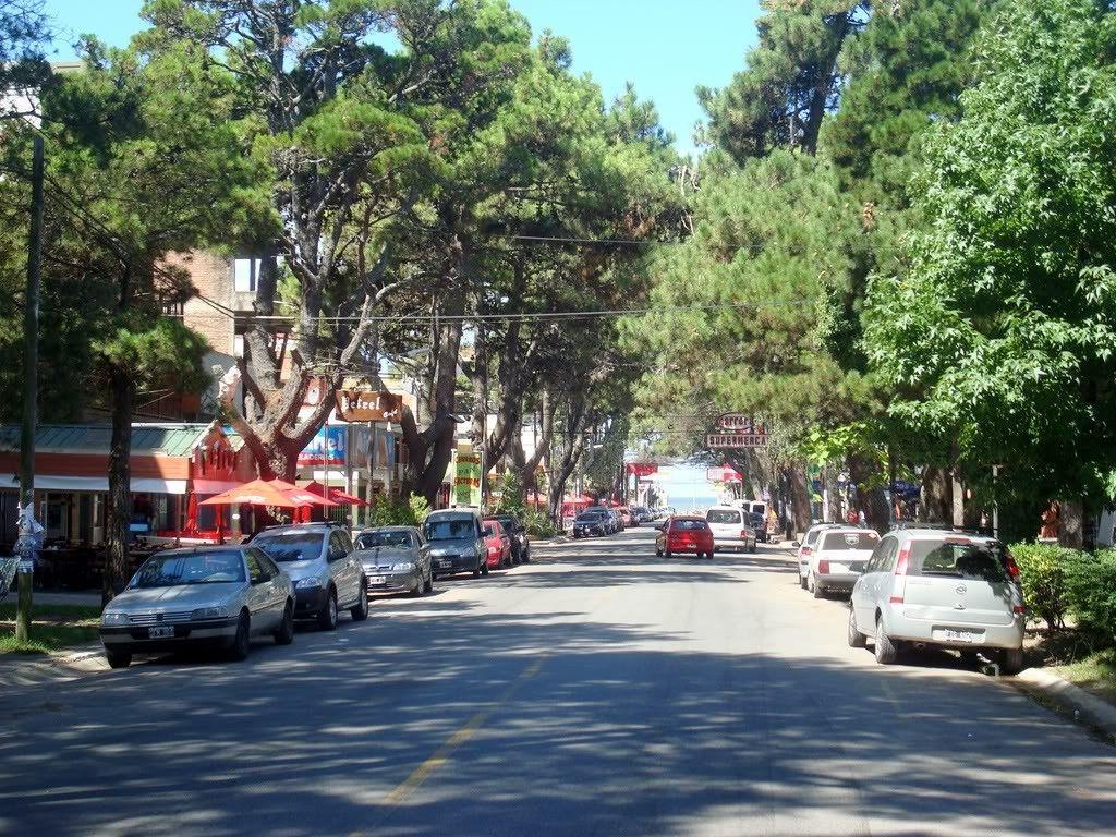Calles de San Bernardo en la Costa Argentina