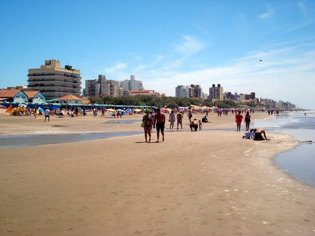 San Bernardo, una de las playas de Argentina más visitadas