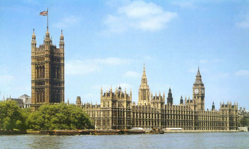 Casas del Parlamento Británico en Londres