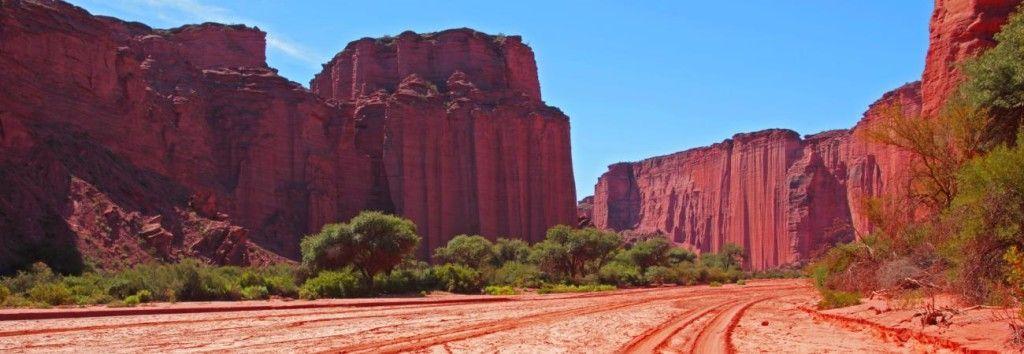 Paredones del Parque Nacional Talampaya