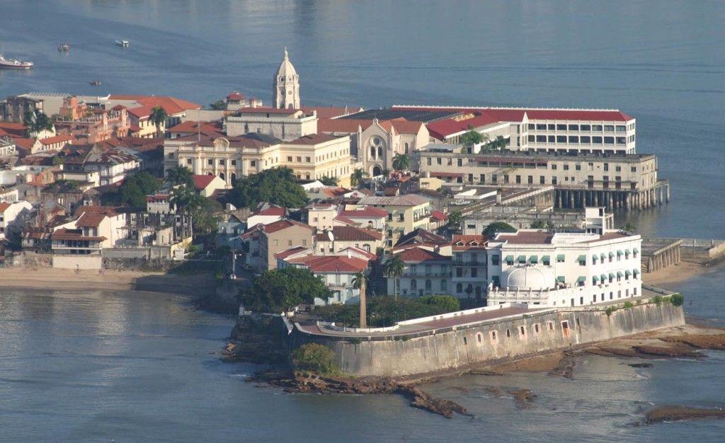 Vista aérea casco antiguo de Panamá