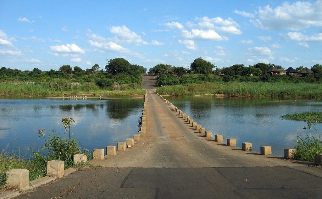 Puente en Parque Kruger, Sudafrica