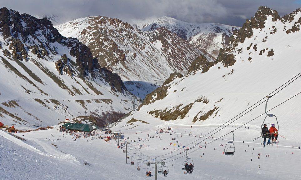 Centro de Ski La Hoya, Chubut, Argentina