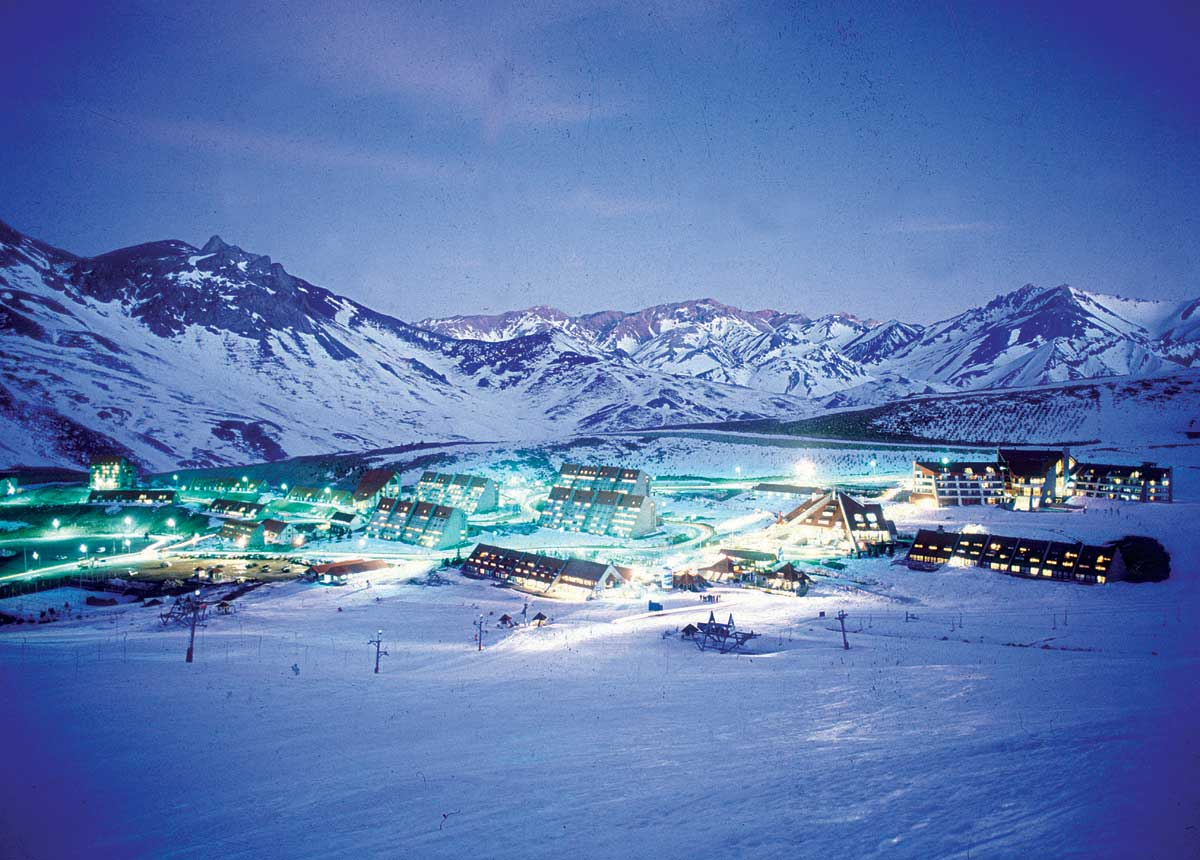 Centro de Ski Las Leñas, Mendoza