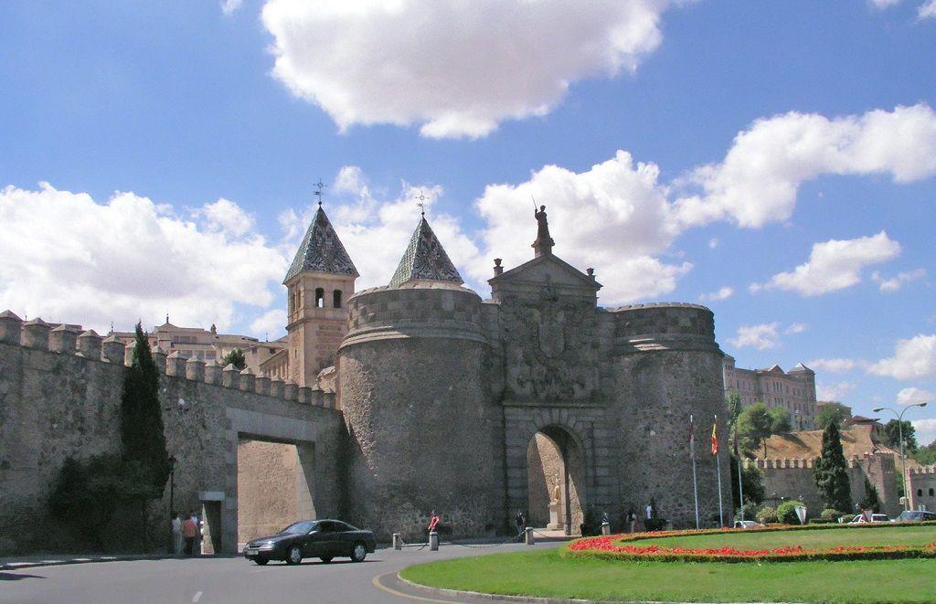 Puerta Bisagra ciudad de Toledo