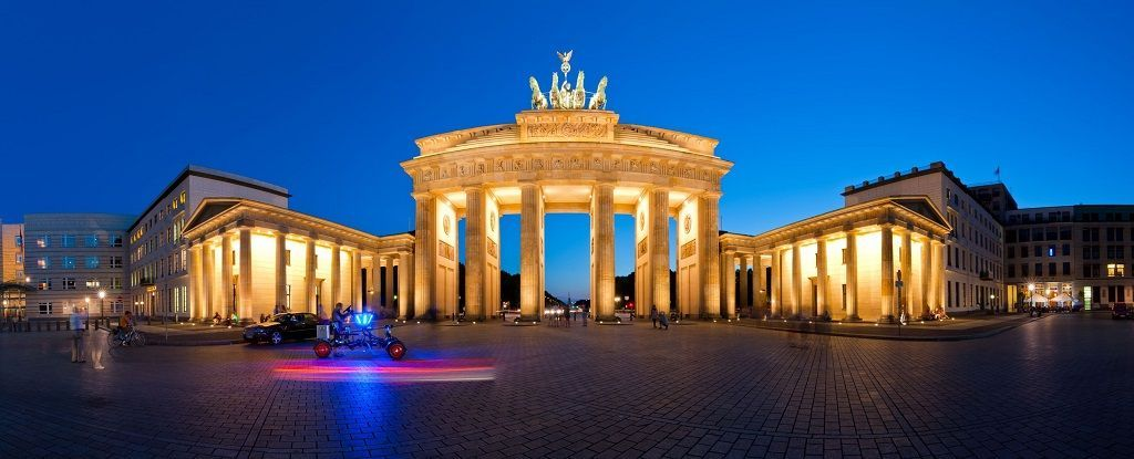 Puerta de Brandemburgo en Berlín