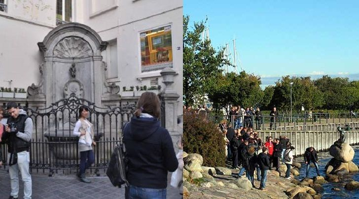 """Grandes"" estatuas de Europa"