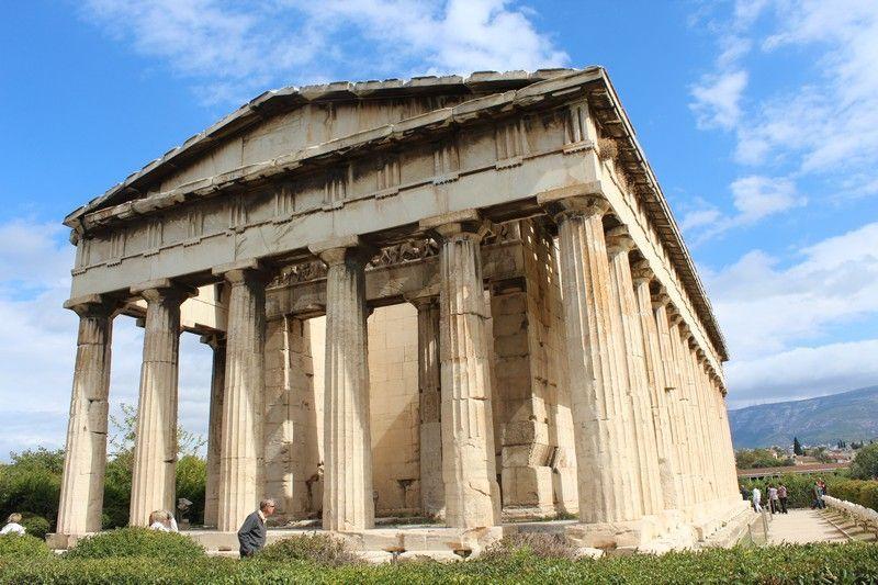 Templo de Efesto en Atenas