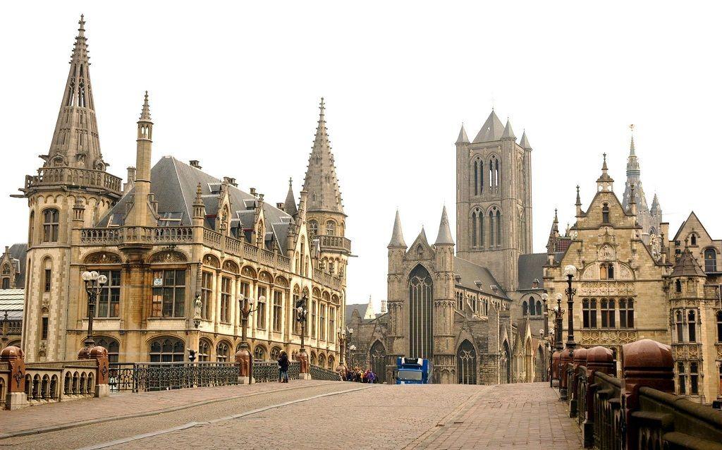 Centro Medieval de Gante