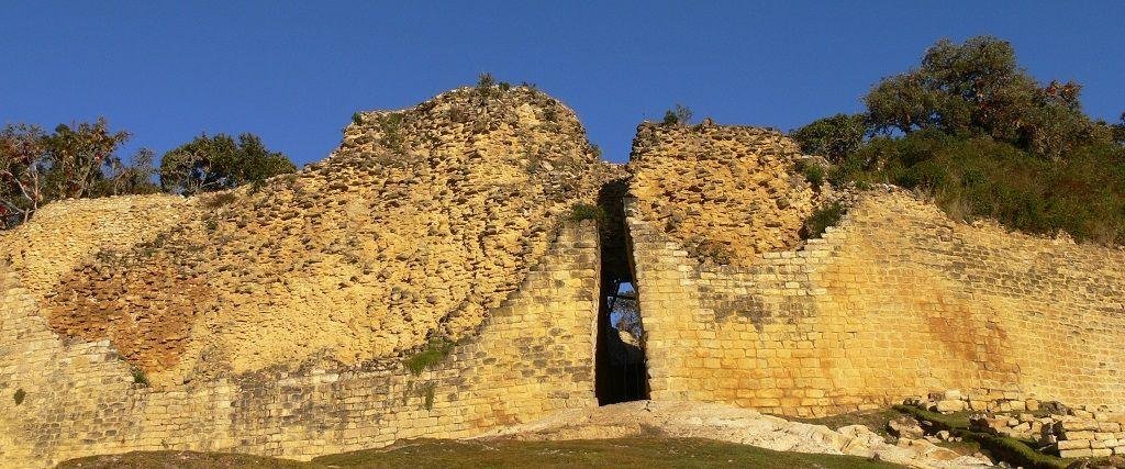 El acceso a la Fortaleza de Kuelap