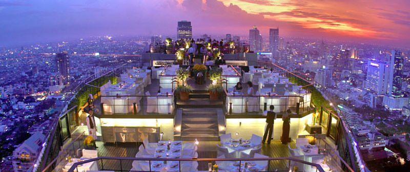 Bares de altura con vistas únicas de Bangkok
