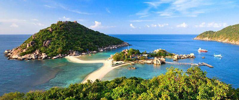 Nang yuang Island en Ko Tao