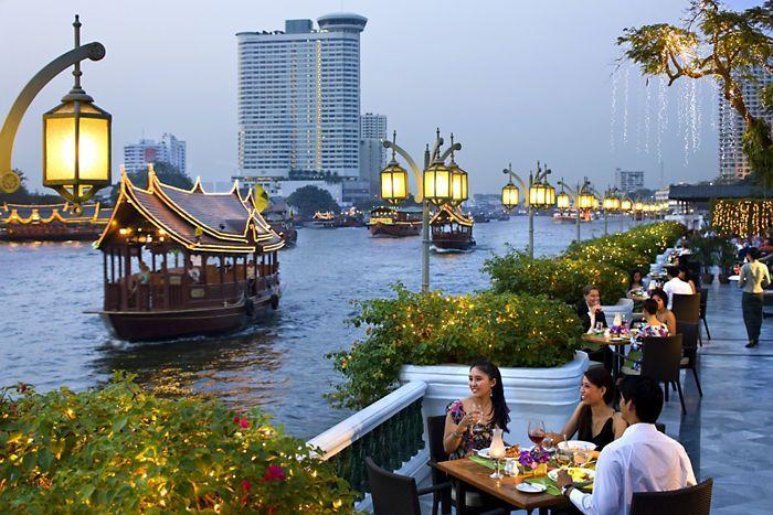 Río Chao Phraya de Bangkok