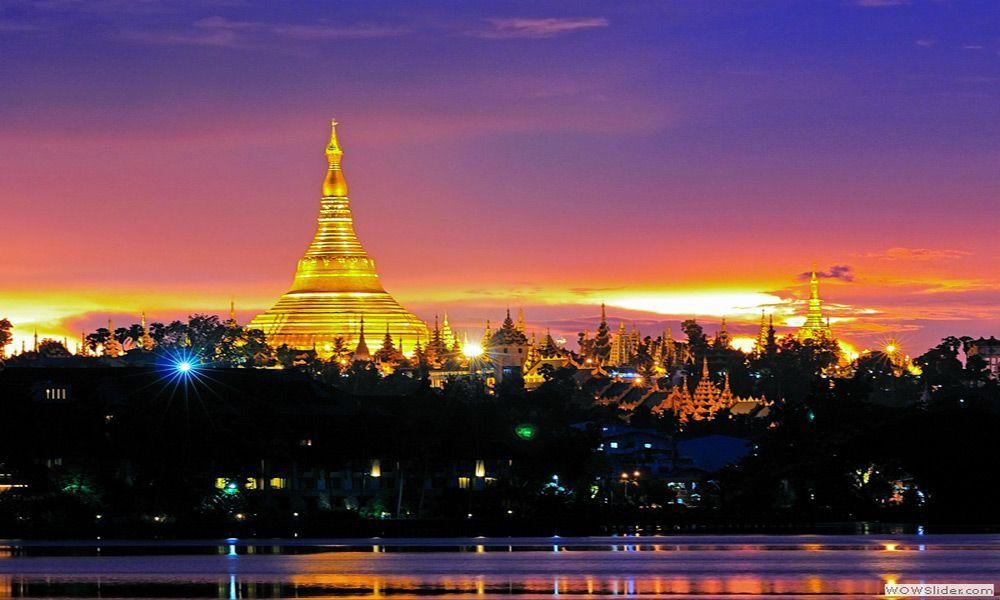 Pagoda Shwedagon Yangon, Myanmar