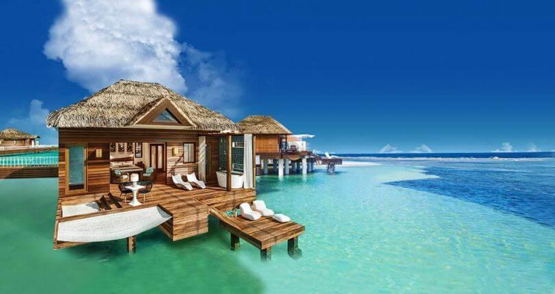 Lujo en las playas de Jamaica