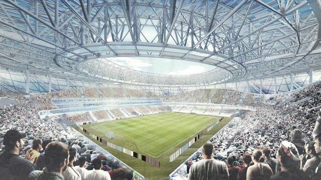 Estadio de fútbol en Nizhnij Novgorod