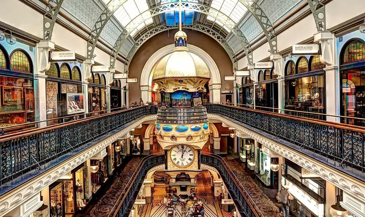 Queen Victoria Building, uno de los malls más elegantes en Sidney
