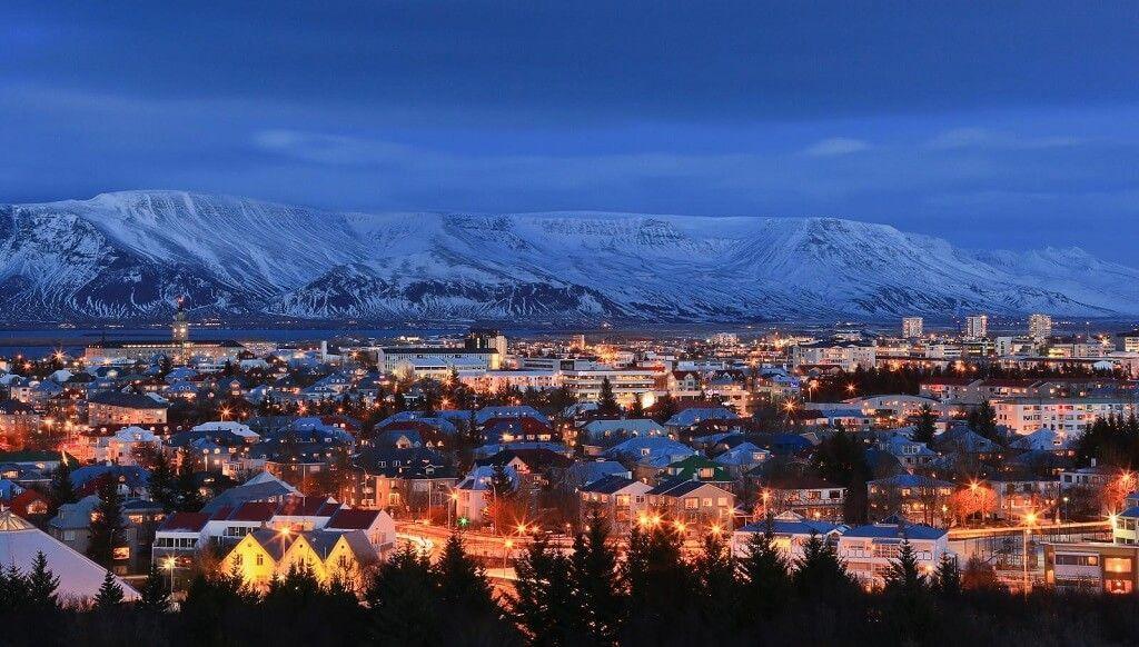 Reykjavik en Islandia es considerada una de las ciudades más bellas de Europa